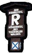 """Höhenwanderweg """"Rennsteig"""""""